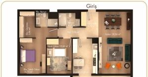 Pelit Pamira daire planları!