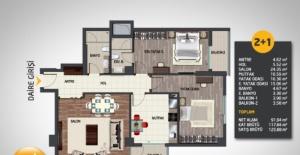 Meydan Evleri daire planları!