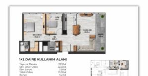 Biva Tower daire planları!
