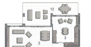 İnallar Hayat 2 daire planları!