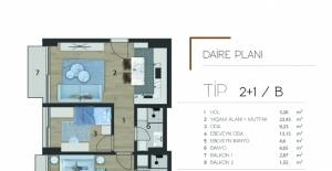 Modda Suites daire planları!