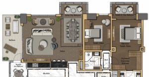 Büyükyalı daire planları!