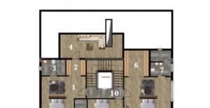 Terrace Mogan Konakları kat planları!
