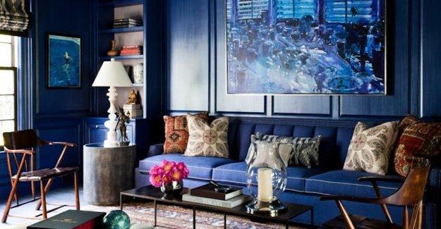 2015'in trend dekorasyon renklerinden; Kadet Mavisi