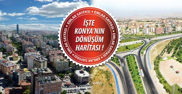 Konya'da kentsel dönüşüm nerelerde olacak? İşte o bölgeler