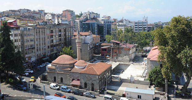 Trabzon Meydan Parkı ikinci etap kentsel yenileme çalışmaları başladı!
