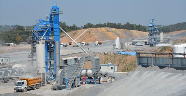 Yavuz Sultan Selim Köprüsü'ne rekor asfalt üretimi!