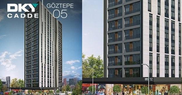 DKY Cadde Göztepe 05 daire fiyatları!