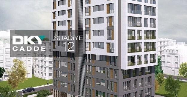 DKY Cadde Suadiye 12 daire fiyatları!
