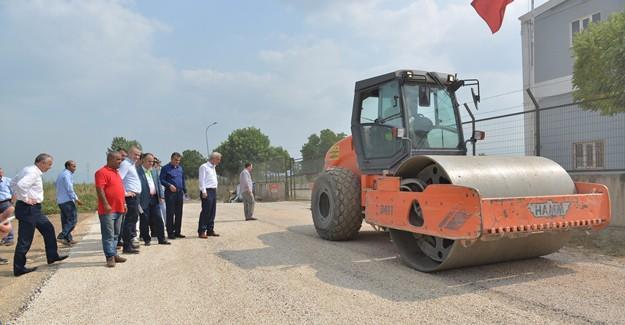 İnegöl Belediyesi'nden yoğun asfalt çalışması!