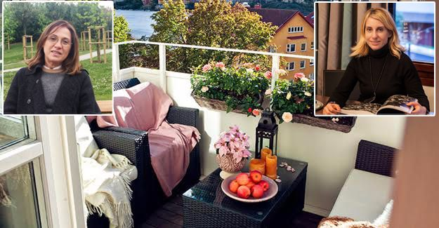 Küçük balkonları yaşanabilir hale getirmenin yolları!