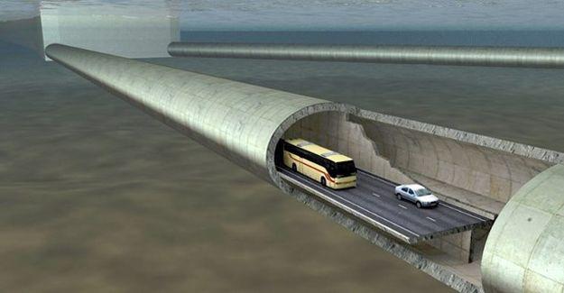 Norveç Dünya'nın ilk yüzen tünelini yapacak!
