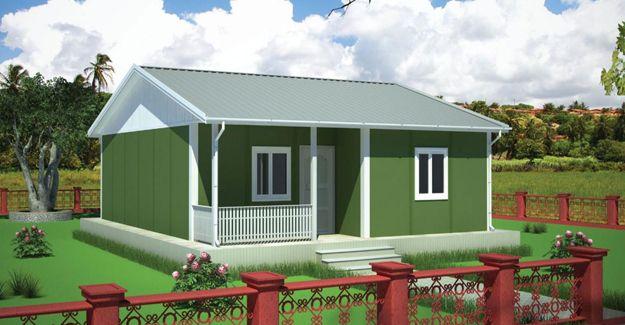 Sevimli ve huzurlu prefabrik evlere ilgi artıyor!