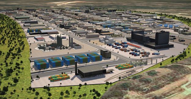 İstanbul'un yeni sanayi bölgesi: DESB