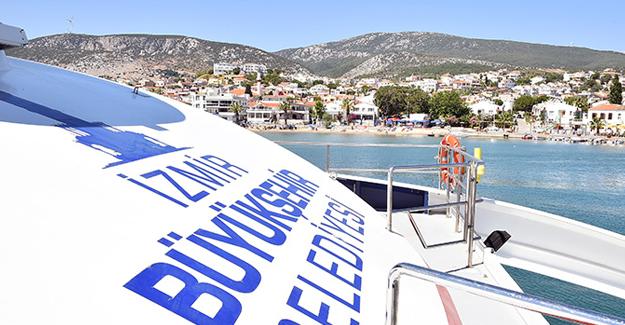 İzmir'de Foça ve Mordoğan gemi seferlerine ara verildi!