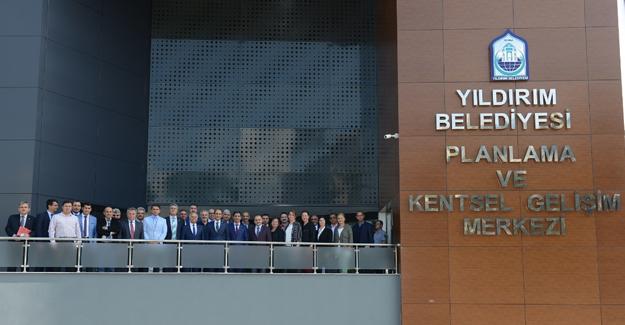 Yıldırım'da Planlama ve Kentsel Gelişim Merkezi açıldı!
