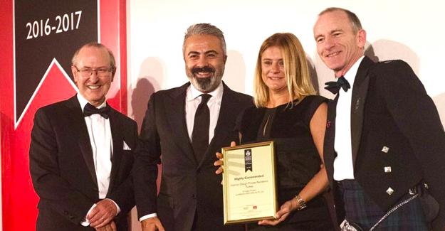 Arıkan Yapı'ya Londra'dan dört ödül!