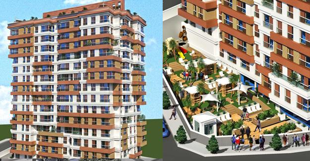 Hill Town 11 Residence / İstanbul Avrupa / Kağıthane