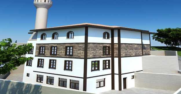 Mamak mahallelerine Selçuklu Mimarisi'nde cami çalışmaları başladı!