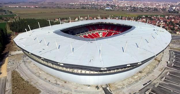 TOKİ 35 bin kişilik Eskişehir Stadı açılış için gün sayıyor!