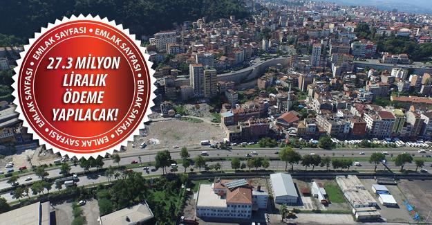 Trabzon Çömlekçi kentsel dönüşümde ödemeler başladı!