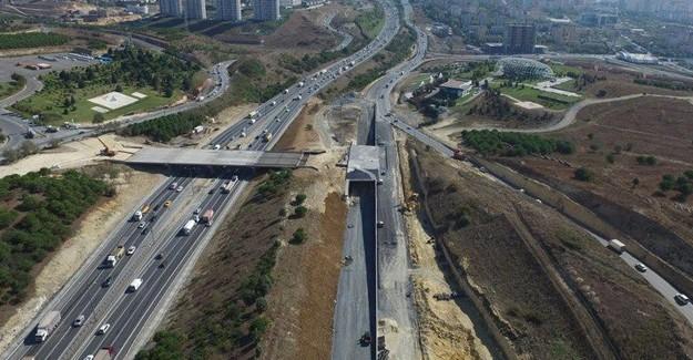 100 milyon liralık Tema İstanbul Köprüsü açıldı!