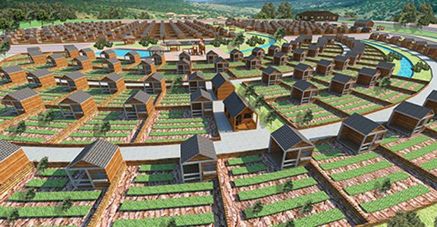 Antalya'da 'Hobi Bahçesi' inşa ediliyor!