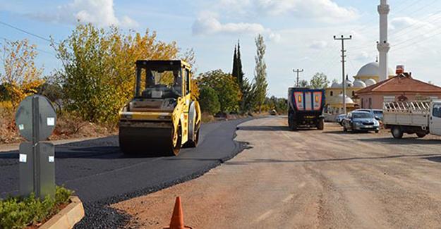 Antalya Döşemealtı Yağca'da asfalt çalışması!
