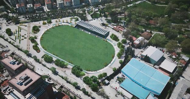 Atatürk Stadı tarihi dokusu korunarak meydana dönüştürülüyor!