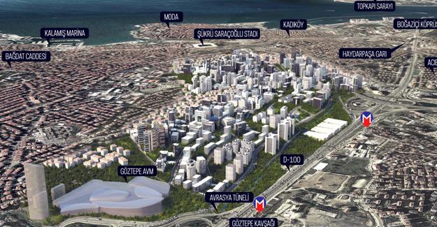Fikirtepe'de kentsel dönüşüm projelerinin değeri 18 milyar dolar!