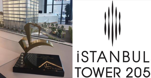 İstanbul Tower 205'e Sign of the City Awards'tan ödül!