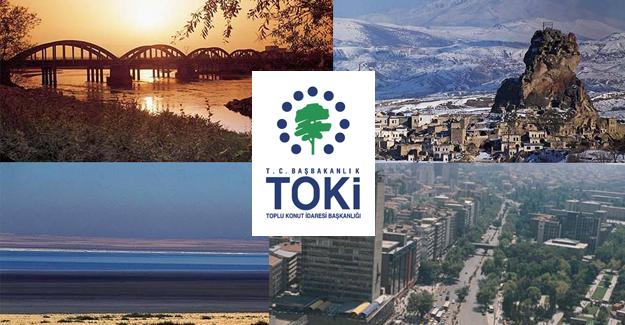 TOKi 2017'de İç Anadolu'da hangi ilde kaç konut yapacak!