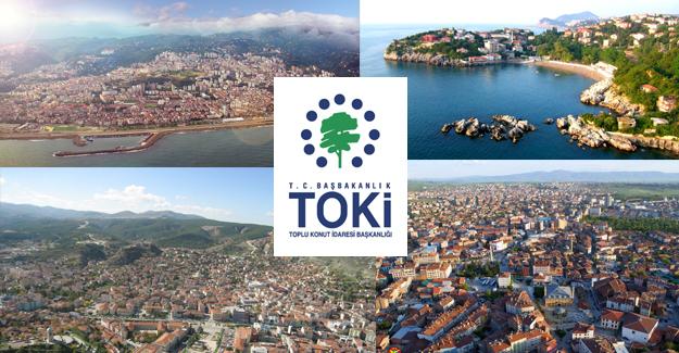 TOKİ 2017'de Karadeniz'de hangi ilde kaç konut inşa edecek!