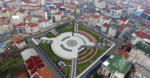 Arnavutköy Meydan ve Otopark yapım çalışması hızla devam ediyor!