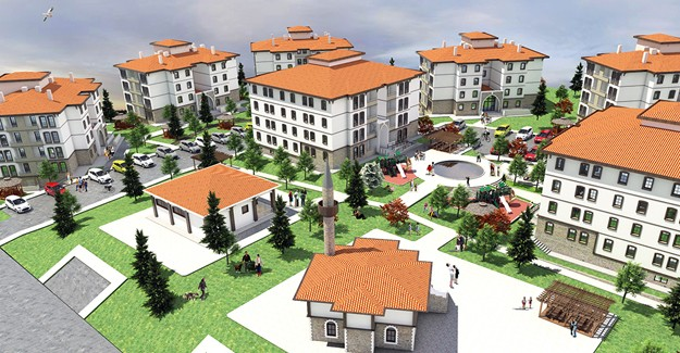 TOKİ Niğde Bor'da 157 konut inşa edecek!