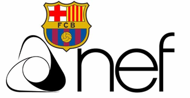 Nef, şimdi de Barcelona'ya sponsor oldu!