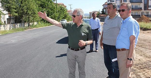 Afyon Dinar'da altyapı çalışmaları başladı!