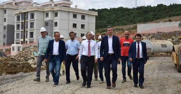Başkan Turan, Kocaeli'nde çalışmaları yerinde inceledi!