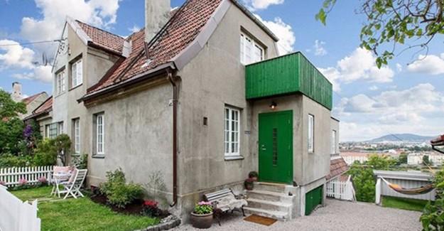 İşte eski görünen evin şaşırtıcı iç tasarımı!