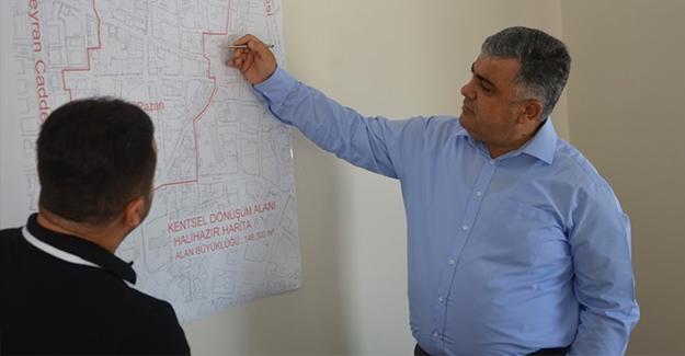Konya Ereğli'de Başkan Özgüven Kentsel Dönüşüm Ofisini inceledi!