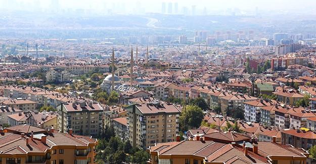 Ankara'da en fazla konut satışı Keçiören'de yapıld!