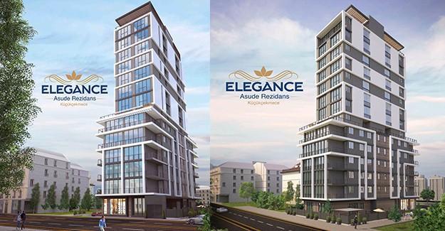 Aynam İnşaat'tan yeni proje; Elegance Asude Rezidans