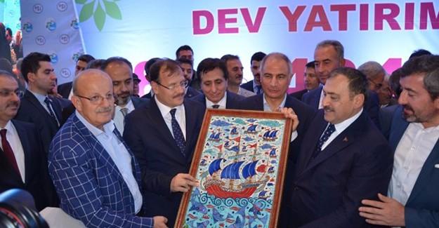 Bursa İznik barajı ve 8 dev projenin temelleri atıldı!
