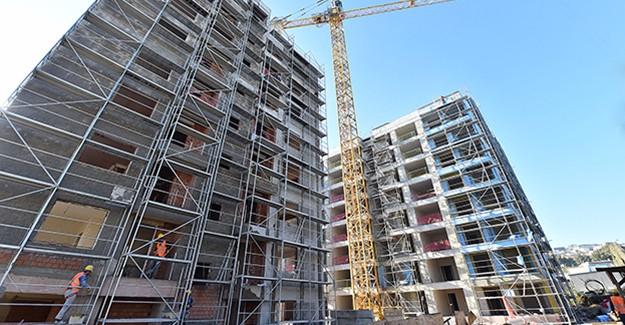 İzmir Uzundere kentsel dönüşüm projesi 1. etap inşaatı devam ediyor!