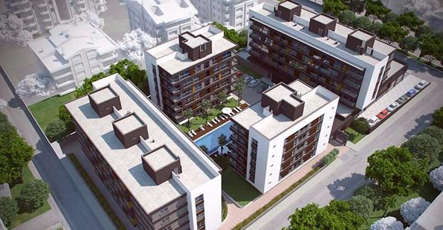 Muratpaşa'ya yeni proje; Zeytinpark Rezidans Antalya