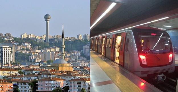 Ankara'da metro alt bölgeleri canlandırıyor!