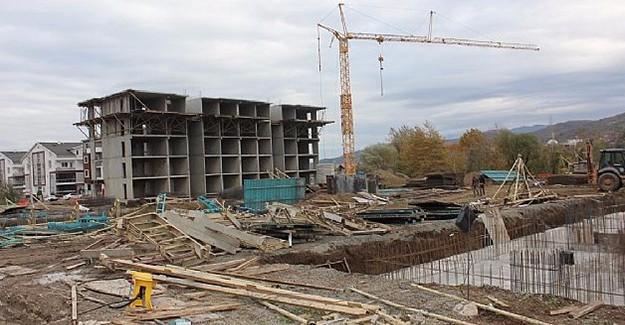 Gölcük Denizevler kentsel dönüşüm projesinde binalar hızla yükseliyor!