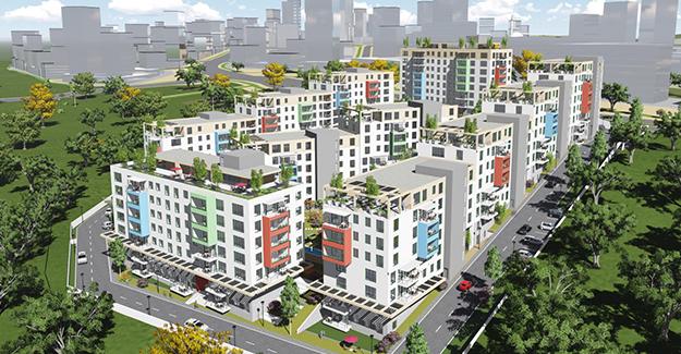 Emlak Konut Başakşehir Evleri 2 daire fiyatları!