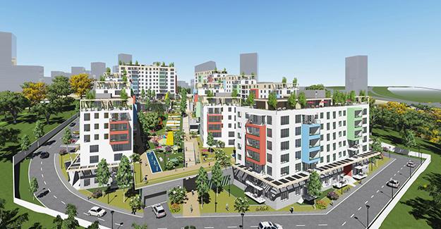 Emlak Konut'tan Başakşehir'e yeni proje; Emlak Konut Başakşehir Evleri 2