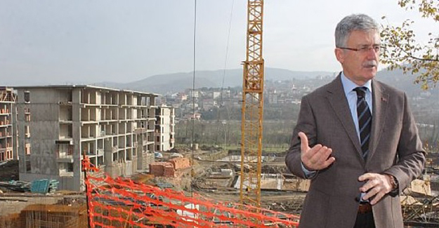 'Gölcük Denizevler kentsel dönüşüm projesi 2018 yıl sonunda tamamlanacak'!